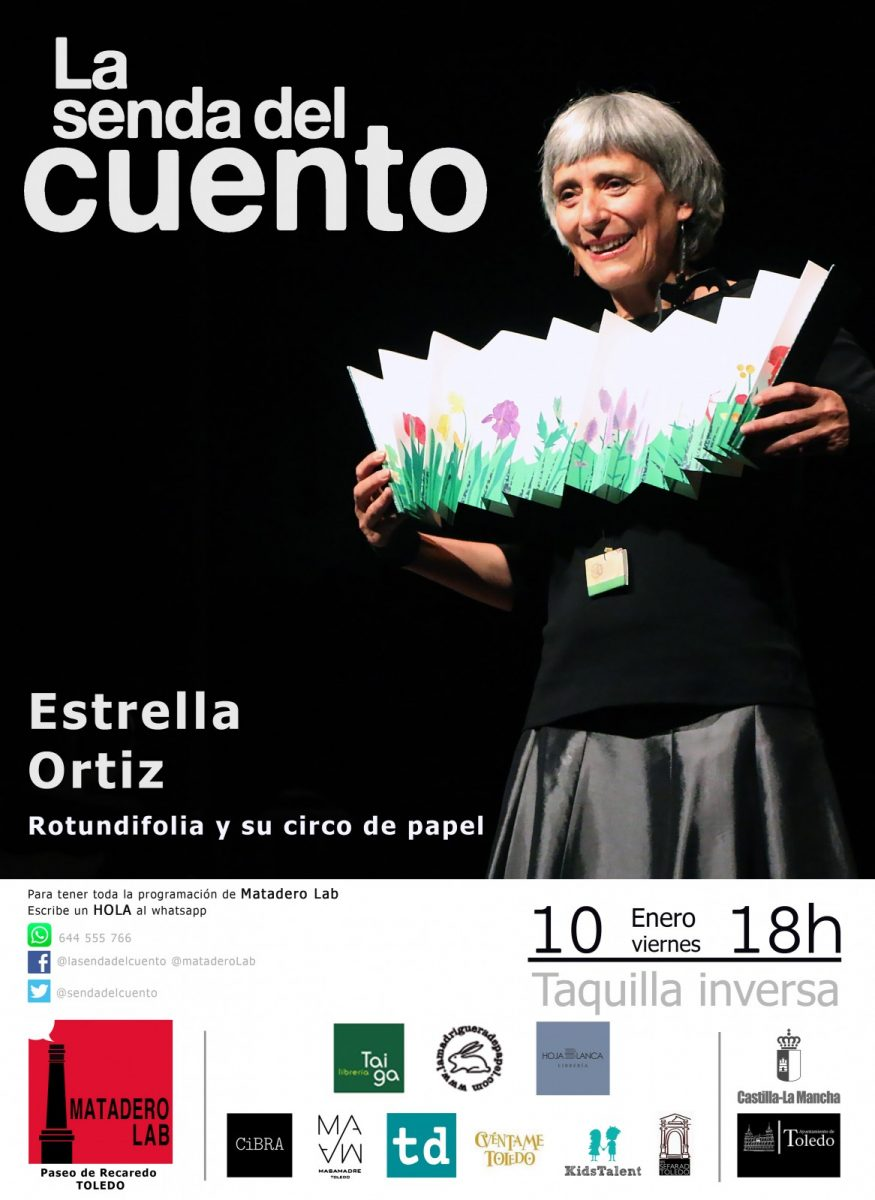 http://www.toledo.es/wp-content/uploads/2020/01/s-c-familiar-estrella-ortiz-2020-875x1200.jpg. La senda del cuento: Rotundifolia y su circo de papel