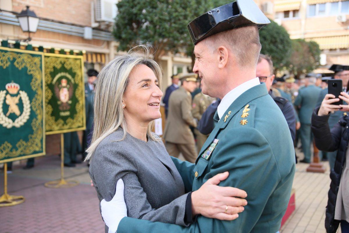 http://www.toledo.es/wp-content/uploads/2020/02/11_posesion_guardia_civil-1200x800.jpg. Milagros Tolón felicita al nuevo jefe de la Comandancia de la Guardia Civil de Toledo y le garantiza la colaboración municipal