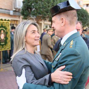 ilagros Tolón felicita al nuevo jefe de la Comandancia de la Guardia Civil de Toledo y le garantiza la colaboración municipal