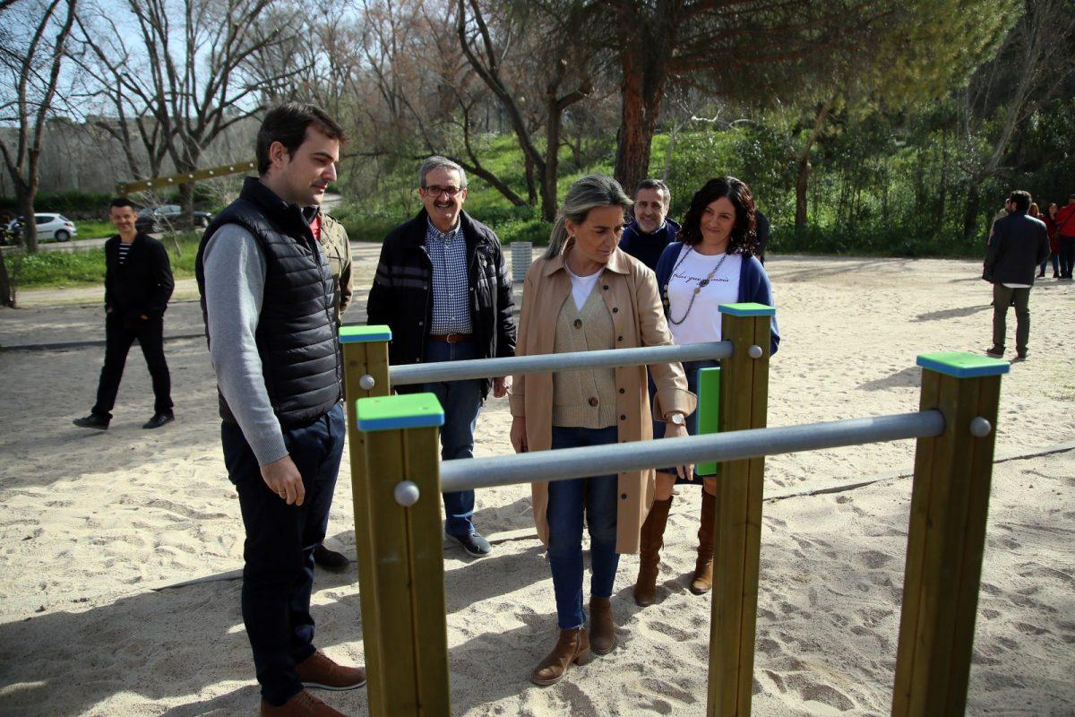 https://www.toledo.es/wp-content/uploads/2020/02/12_circuito_vita-1200x800.jpg. Milagros Tolón inaugura un nuevo espacio saludable y de ejercicio en la senda ecológica y reivindica el río Tajo como patrimonio local
