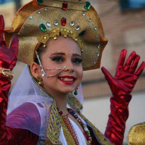 nas 1.500 personas participan en el Carnaval de Toledo más inclusivo que tuvo a 'El trono es nuestro' como gran ganadora