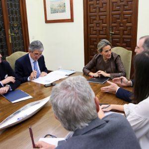 ilagros Tolón se reúne con el arquitecto Ezquiaga para avanzar en un POM que apostará por la revitalización y la cohesión social