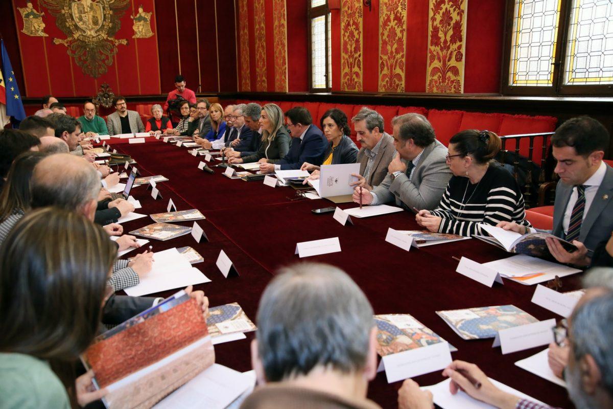 """https://www.toledo.es/wp-content/uploads/2020/02/7_costitucion_consejo_alfonsox-1200x800.jpg. Toledo liderará la efeméride del VIII Centenario de Alfonso X El Sabio que tendrá """"proyección nacional e internacional"""""""