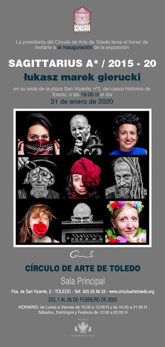 http://www.toledo.es/wp-content/uploads/2020/02/83471254_3514645085274001_7209816936706736128_o-572x1200.jpg. Exposición fotografía: Sagittarius A* / 2015 – 2020, de Lukasz Marek Gierucki