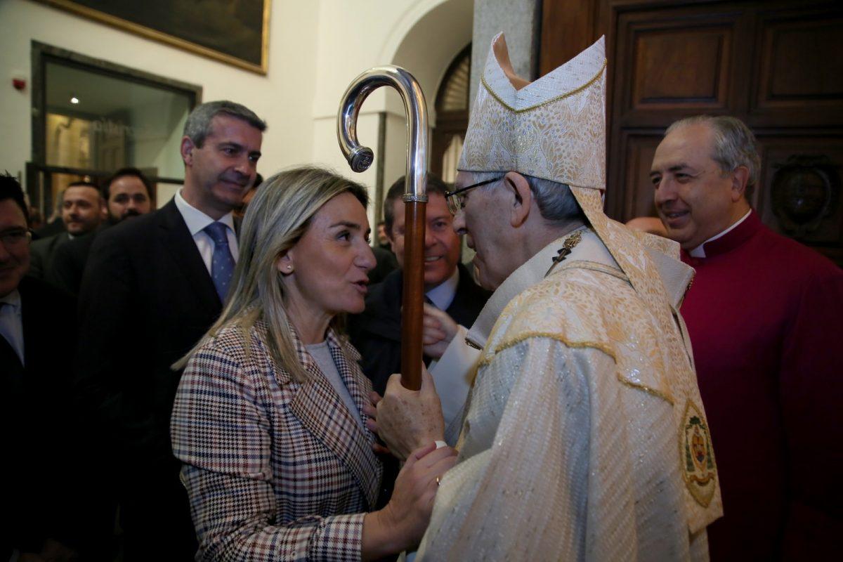 """https://www.toledo.es/wp-content/uploads/2020/02/8_misa_despedida_braulio-1200x800.jpg. La alcaldesa destaca """"la cercanía institucional y personal"""" de Braulio Rodríguez en su despedida como arzobispo de Toledo"""
