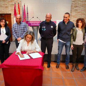 ilagros Tolón destaca el acuerdo con los Agentes de Movilidad que cierra el ciclo de consensos iniciado con Policía y Bomberos