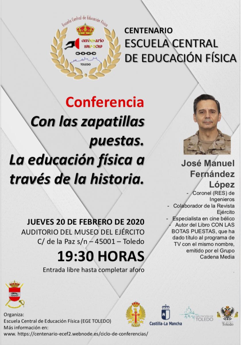 http://www.toledo.es/wp-content/uploads/2020/02/captura-de-pantalla-2020-02-03-a-las-12.34.13-839x1200.png. Conferencia: Con las zapatillas puestas. La educación física a través de la historia
