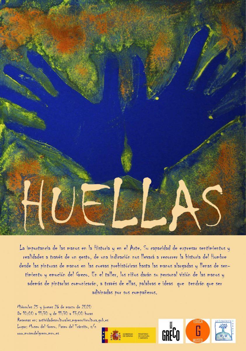 http://www.toledo.es/wp-content/uploads/2020/02/cartel-del-taller-huellas-843x1200.jpg. Educamuseo «Huellas»
