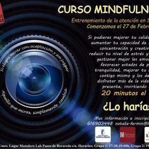 NUEVO curso: Mindfulness