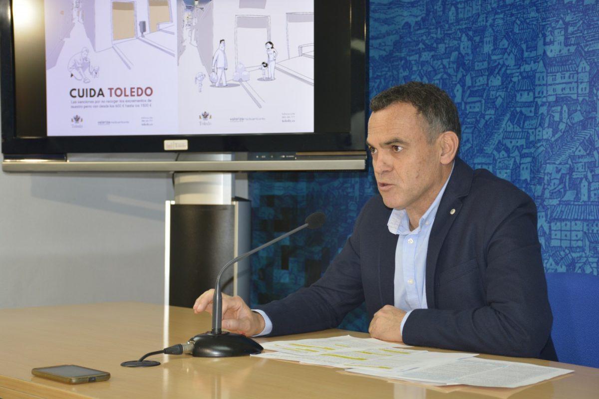 http://www.toledo.es/wp-content/uploads/2020/02/dsc0840-1200x800.jpg. El Ayuntamiento pone en marcha la campaña 'Cuida Toledo' para concienciar sobre la recogida de excrementos y de basura