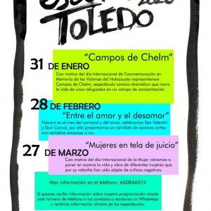 Microteatro: Escena Toledo «Entre el amor y el desamor»