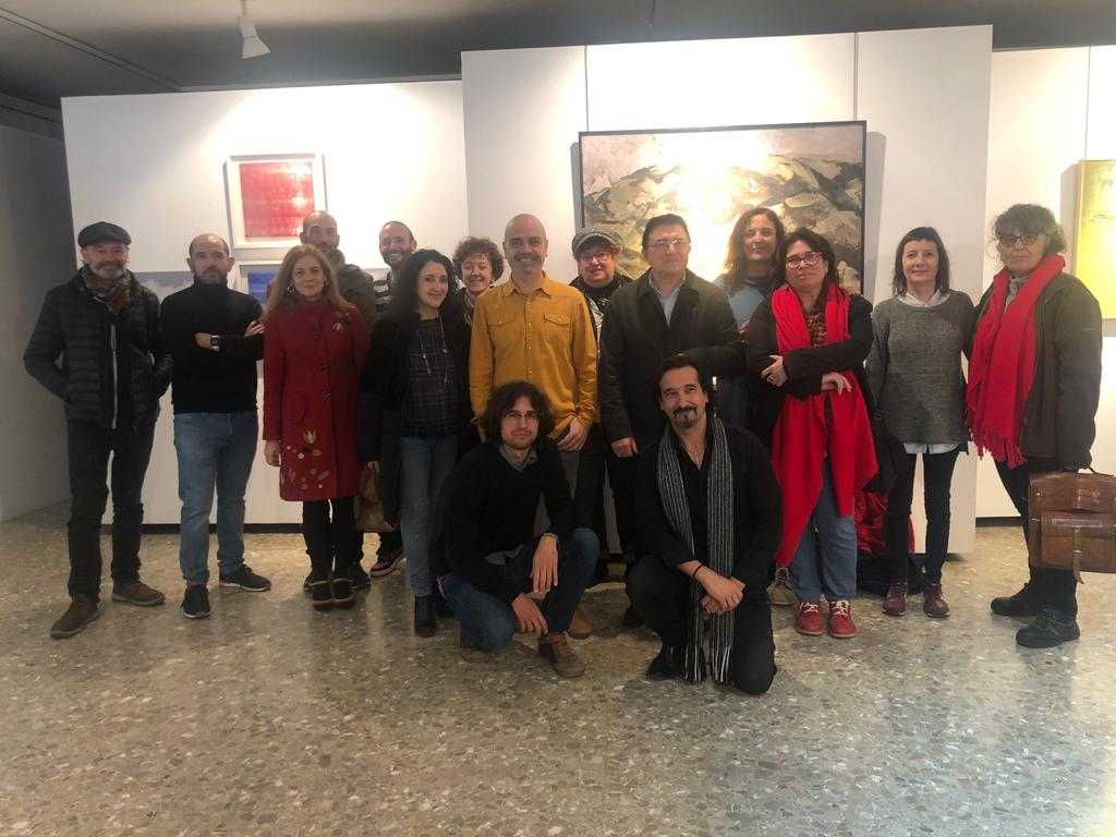 """https://www.toledo.es/wp-content/uploads/2020/02/expo_escuela_arte.jpeg. El Gobierno local destaca en la inauguración de """"Arte y Oficio"""" el papel de la Escuela de Arte en la promoción cultural de Toledo"""