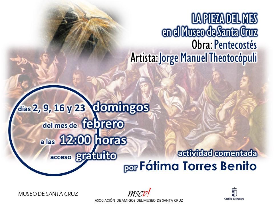 "https://www.toledo.es/wp-content/uploads/2020/02/image.png. Pieza del mes: Exposición comentada del cuadro ""Pentecostés"""