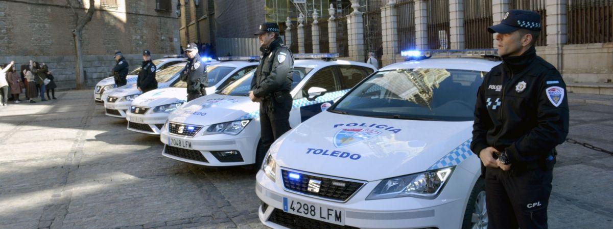 Nuevos coches de Policía Local