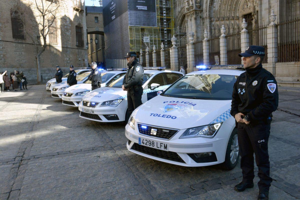 https://www.toledo.es/wp-content/uploads/2020/02/image_117861-1200x800.jpg. Milagros Tolón presenta cinco nuevos vehículos para la Policía Local equipados con mejores prestaciones para su servicio