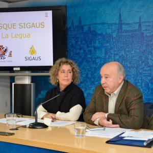 l Ayuntamiento y la empresa Sigaus firman un convenio para la plantación de un nuevo bosque urbano con 1.000 árboles en La Legua