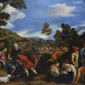 Exposición temporal: Las Bodas de Caná y El Milagro de los panes y los peces, de Pedro Orrente