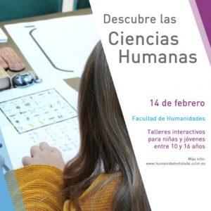 Talleres: Descubre las Ciencias Humanas