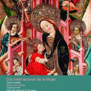Exposición temporal: Virgen con el Niño, de Blasco de Grañén