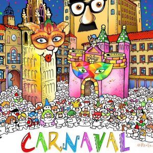 Carnaval en los Barrios: Concurso de disfraces infantiles en San Antón-Av. Europa, Palomarejos, Buenavista