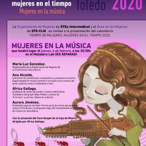 Presentación del calendario coeducativo 2020: Tiempo de mujeres, mujeres en el tiempo