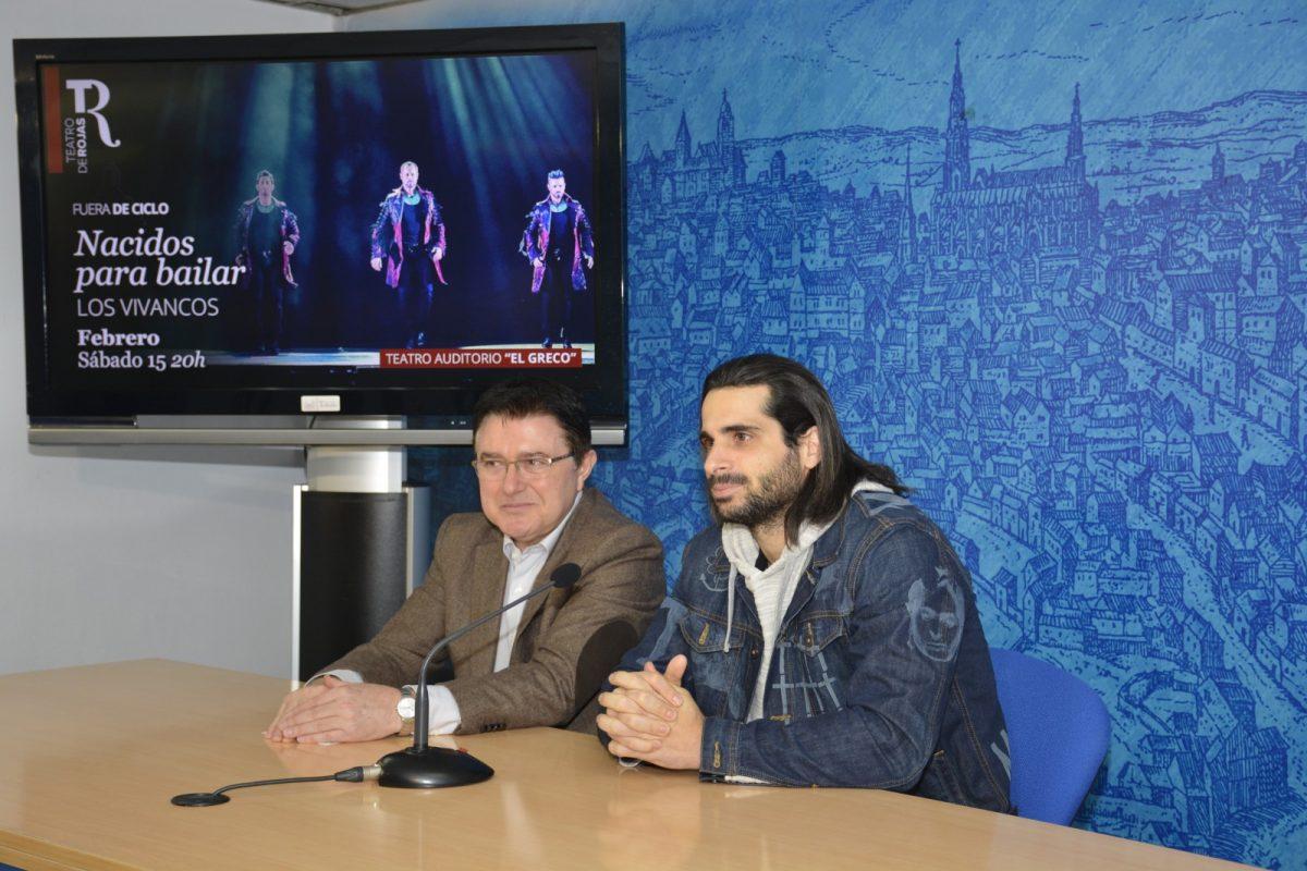"""https://www.toledo.es/wp-content/uploads/2020/02/teo-garcia_cristo-vivancos_20200205-1200x800.jpg. Los Vivancos llegan por primera vez a Toledo con su espectáculo """"innovador y referente internacional"""" el próximo 15 de febrero"""