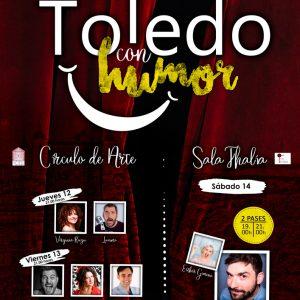 [[CANCELADO]] Toledo con humor: Virginia Riezu y Luismi