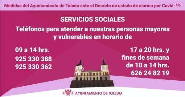 Cartela Servicios Sociales
