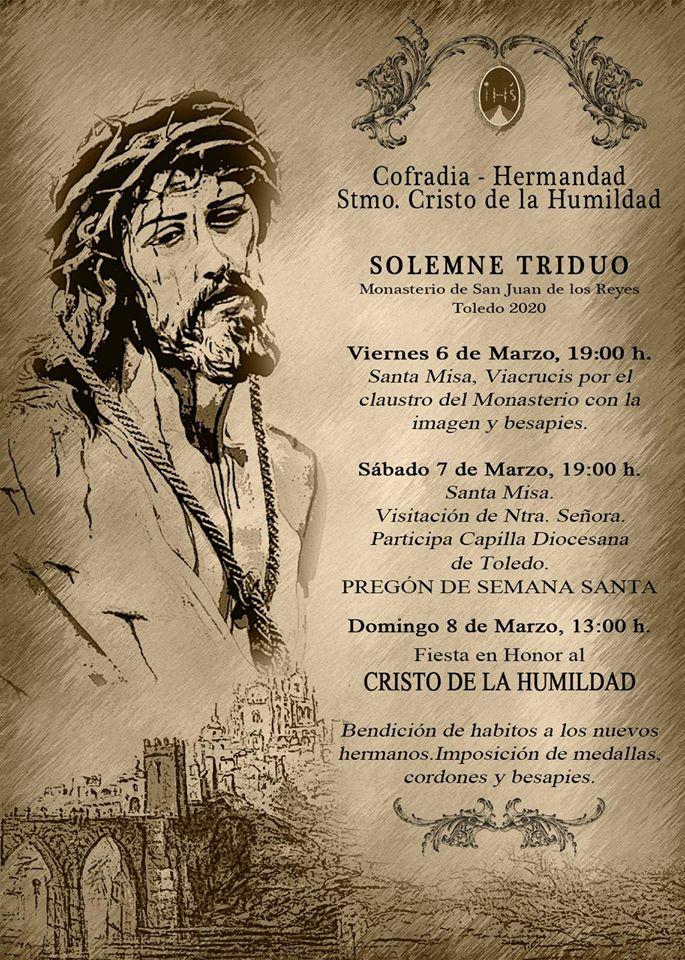 http://www.toledo.es/wp-content/uploads/2020/03/cofradia-humildad-2020.jpg. Santa Misa: Visitación de Nuestra Señora, a cargo de la Capilla Diocesana de Toledo