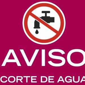 orte de suministro de agua en el Casco Histórico el 4 de marzo, miércoles