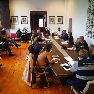 l Gobierno local reúne a la Junta de Seguridad de la ciudad para coordinar los recursos y avanzar en la contención del Covid-19