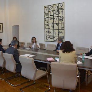 ilagros Tolón traslada a los empresarios las medidas decretadas por el Gobierno local para paliar los efectos de la crisis del Codvid-19