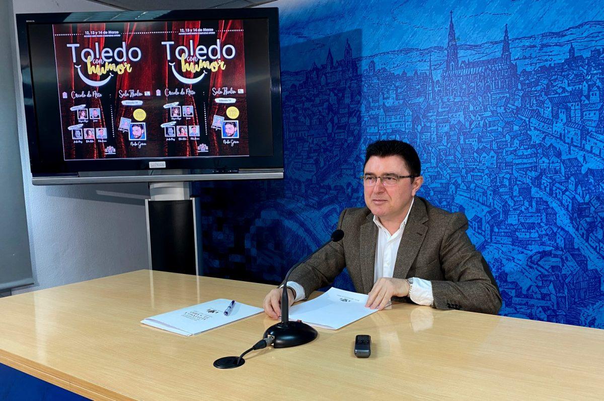 http://www.toledo.es/wp-content/uploads/2020/03/rp-teo-garcia-toledo-con-humor-1200x796.jpg. Siete monologuistas actuarán en el I Festival 'Toledo, con humor' que se suma a la agenda cultural de Toledo en marzo