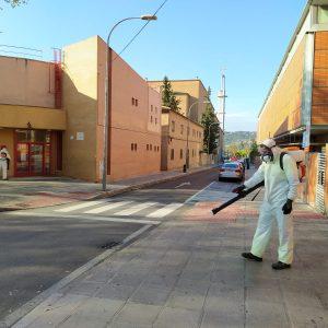 l Ayuntamiento incorpora nuevos medios mecánicos al servicio de limpieza y desinfección de espacios públicos frente al Covid-19