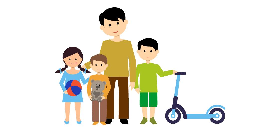 http://www.toledo.es/wp-content/uploads/2020/04/ninos.jpg. GUÍA- Salidas de los niños y niñas durante el periodo de alarma