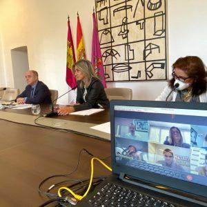 a alcaldesa avanza con los agentes sociales en el proceso de Recuperación Económica y Social por la crisis del Covid-19