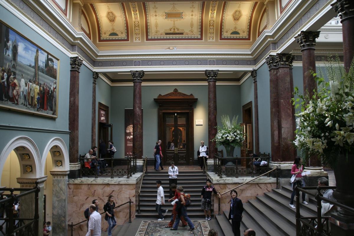 isita virtual a la National Gallery de Londres