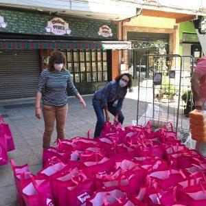 l Ayuntamiento destinará a familias necesitadas 1.500 kilos de ayuda donados por la Asociación de Comercio de Santa Teresa
