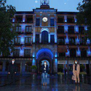 oledo conmemora el Día Mundial de la Enfermería con el encendido de los monumentos más emblemáticos de la ciudad