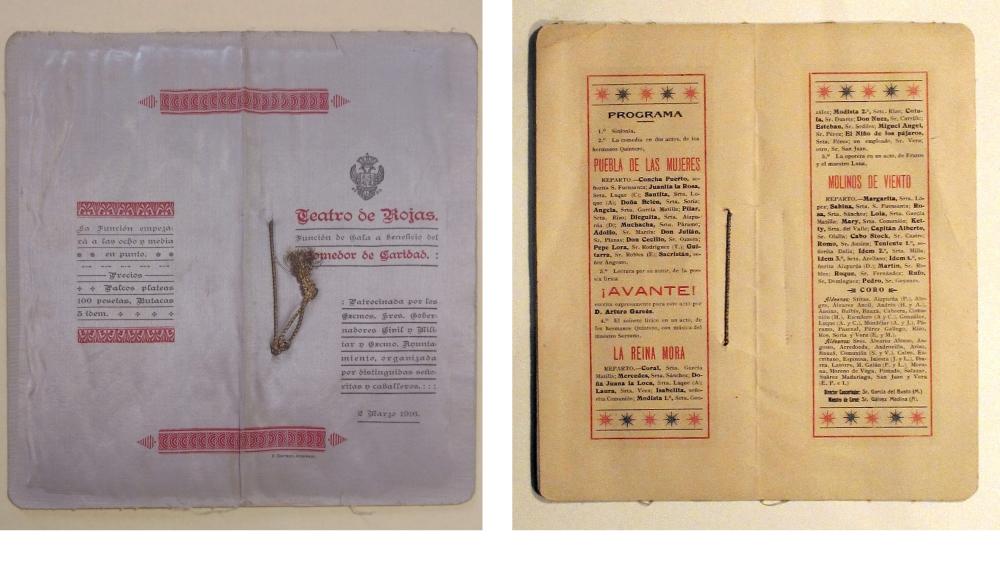 https://www.toledo.es/wp-content/uploads/2020/06/18_1916_programa-completo-de-la-funcion-en-el-teatro-de-rojas.jpg. Restauración de impresos en tela, contribución del Archivo Municipal al Día Internacional de los Archivos
