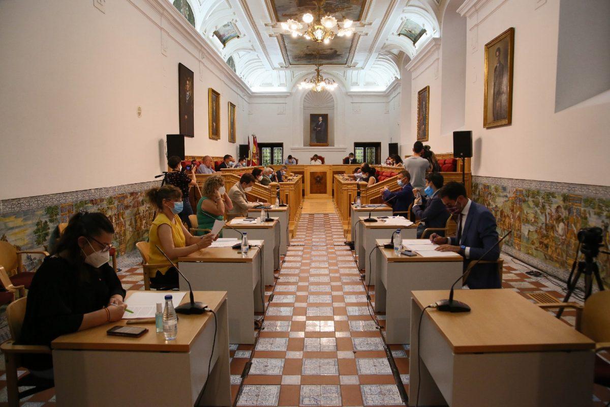 https://www.toledo.es/wp-content/uploads/2020/06/7_pleno_municipal-1200x800.jpg. El Debate sobre el Estado de la Ciudad se celebrará los días 3 y 8 de julio