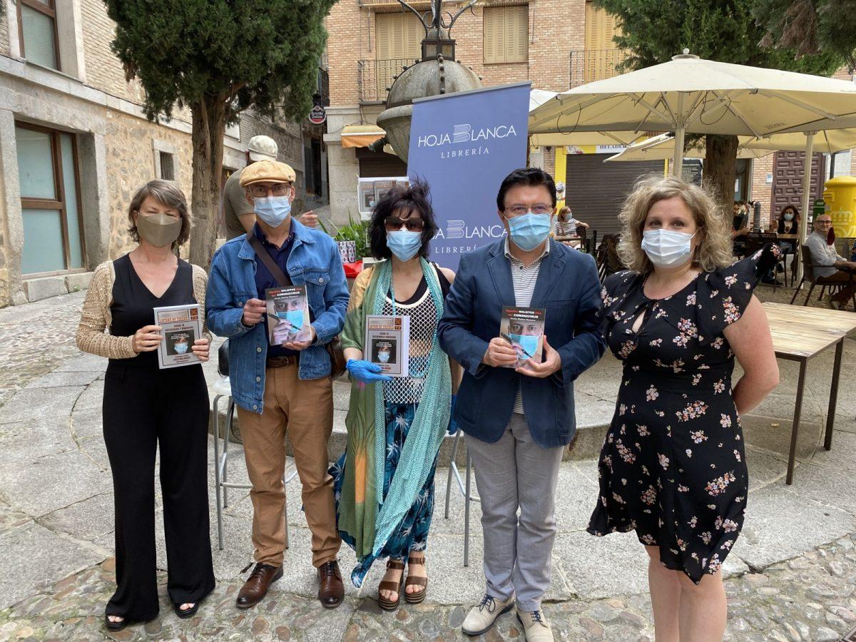 https://www.toledo.es/wp-content/uploads/2020/06/c3ff123b-1976-4e86-9c7c-39bed718a4b5-1200x900.jpeg. El Ayuntamiento respalda la primera actividad cultural al aire libre en la que se presentan dos libros sobre la pandemia de la Covid-19
