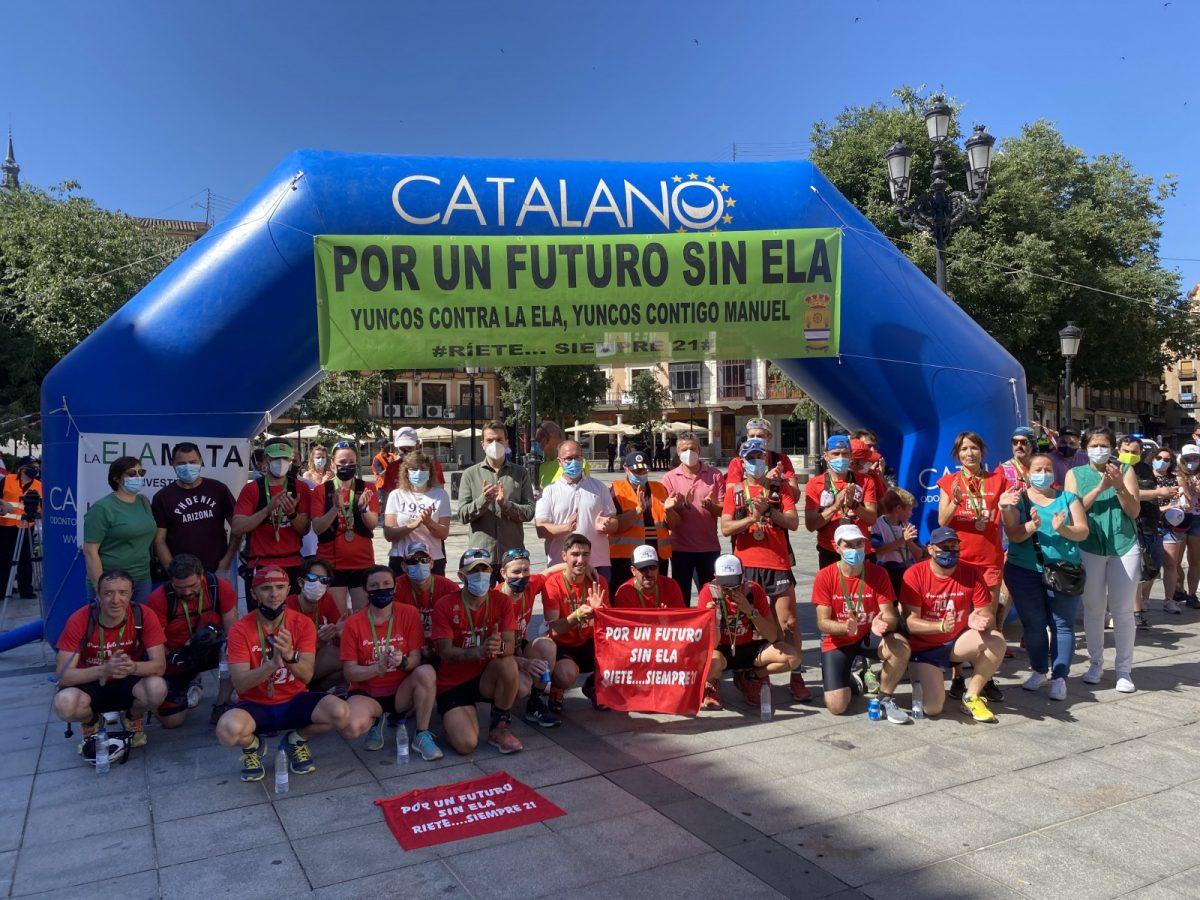 https://www.toledo.es/wp-content/uploads/2020/06/carrera_ela_toledo-01-1200x900.jpg. El Ayuntamiento arropa la llegada a Toledo de la carrera 'Por un futuro sin ELA' y destaca la solidaridad de los atletas