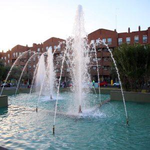 l Ayuntamiento pone en marcha este miércoles las fuentes ornamentales urbanas de la ciudad en horario de 12:00 a 21:00 horas