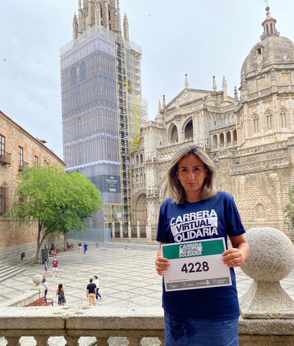 https://www.toledo.es/wp-content/uploads/2020/06/whatsapp-image-2020-06-24-at-12.57.57-1020x1200.jpeg. Milagros Tolón da su apoyo a la Carrera Virtual Solidaria de la Fundación Eurocaja Rural a favor de Cáritas