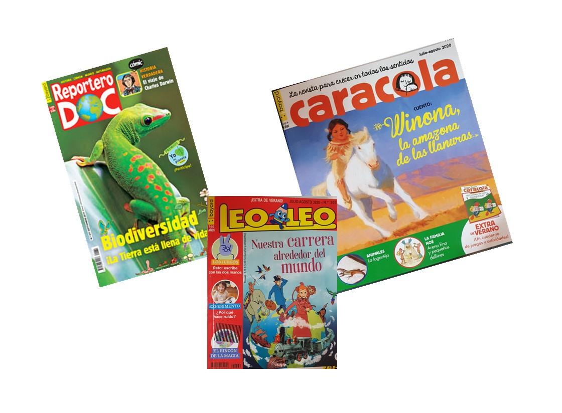 https://www.toledo.es/wp-content/uploads/2020/07/carousel-revistas-infantiles.jpg. Revistas infantiles. Extras de Verano
