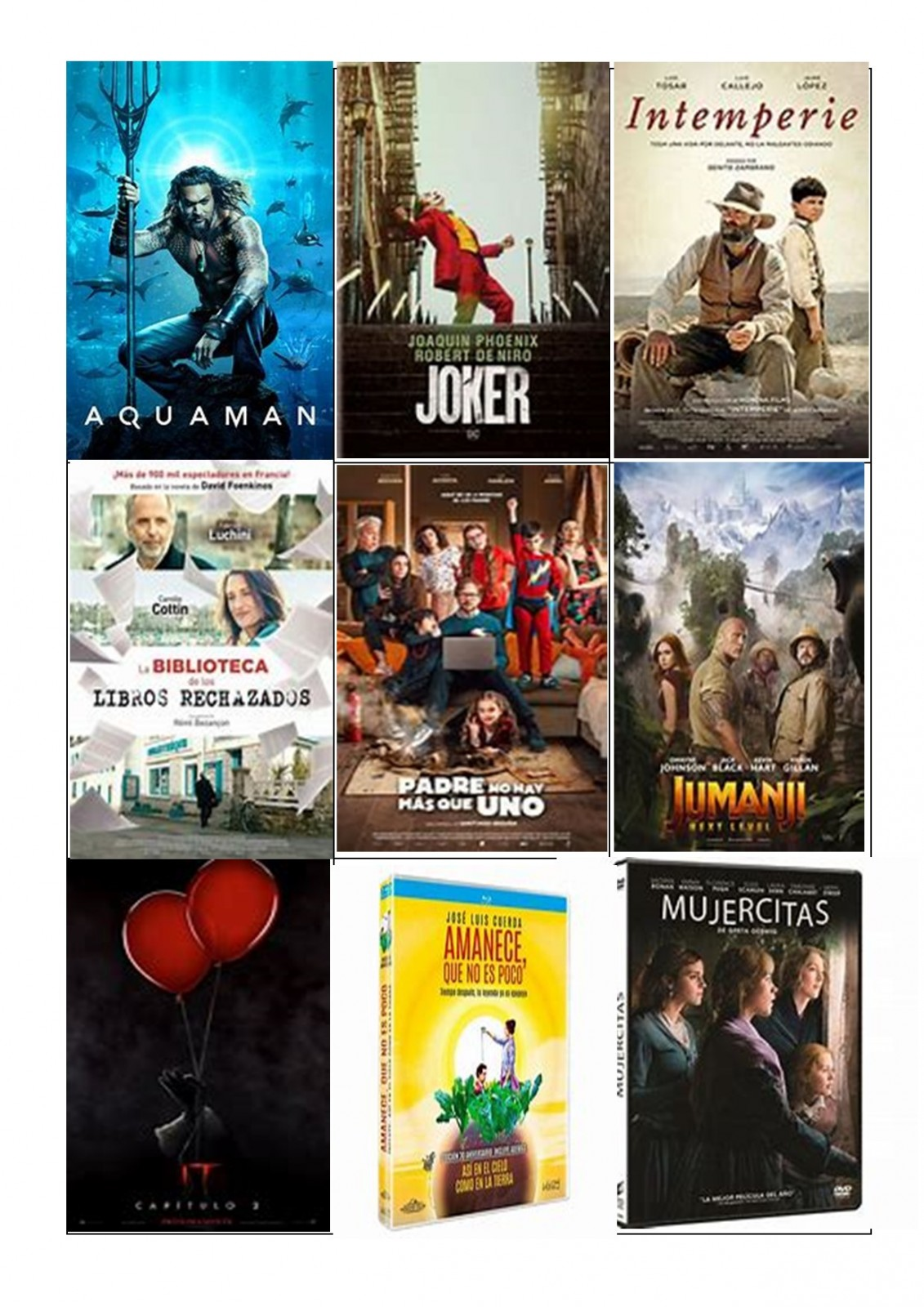 DVD,s adultos imprimir