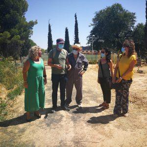 l 'huertódromo' del Polígono se afianza como espacio intercomunitario y de convivencia en el barrio del Polígono
