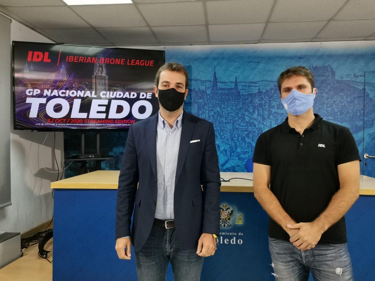 https://www.toledo.es/wp-content/uploads/2020/09/20200928_drones-1200x900.jpg. Toledo acoge el 3 de octubre el Gran Premio de Drones Ciudad de Toledo que incluirá un espectáculo de luz y sonido