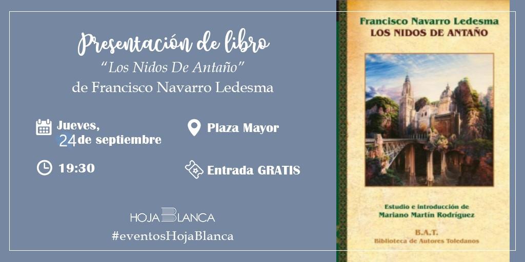 https://www.toledo.es/wp-content/uploads/2020/09/francisco-navarro-2.jpg. Presentación de libro: Toledo y sus Gentes en el Siglo del Greco, Antonio Casado